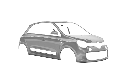 Цвета кузова Twingo